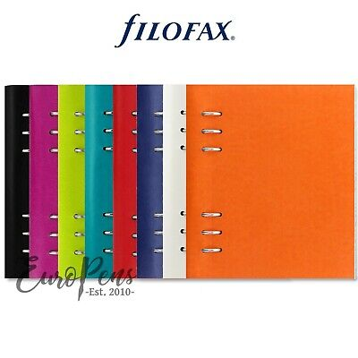 Filofax  Clipbook  Leather-Look A5 Refillable Notebook - Choose Colour • 18.95£