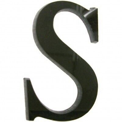 Black Shop Front Letter Signs - (3mm Acrylic, Several Sizes. Price Per Letter) • 22.99£