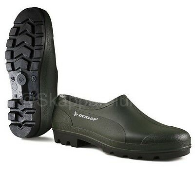 Waterproof Rain Gardening Shoes Clogs Garden Dunlop Green Rubber Summer Wellies • 12.99£