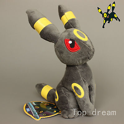 Umbreon From Eevee Evolution Plush Soft Toy Stuffed Animal Doll Cuddly Teddy 9  • 7.99£