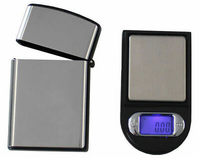 AU20.25 • Buy Mini Digital Electronic Pocket Scale 100G / 0.01G Tare Backlit Lcd + Case