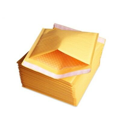 $35.99 • Buy 250 #0 6x10  Kraft Bubble Mailers Shipping Padded Envelopes Self-Seal Bubbles