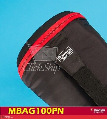 £86.27 • Buy Manfrotto MBAG100PN Padded Tripod Bag With Head Up To 39  Long