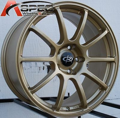 AU1092.88 • Buy Rota G-force 18x8.5 +48 5x114.3 Gold Wheel Fit Eclipse Galant Lancer Civic 5x4.5