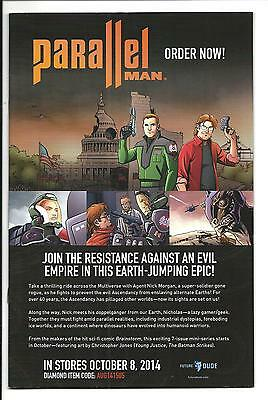 Parallel Man #1 (future Dude Comics, Exclusive Preview Edition, Oct 2014), Nm- • 3.75£