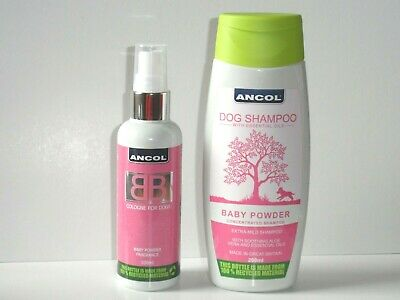 DOG GROOMING SET Ancol - BB Shampoo 200ml & BB Cologne 100ml  • 8.99£