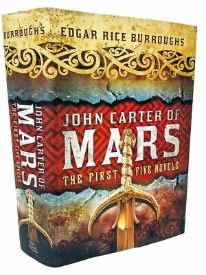 $17.95 • Buy John Carter A Princess Of Mars Series Omnibus Collection By Edgar Rice Burroughs