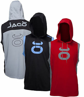 $19.99 • Buy New Jaco Hybrid Training Sleeveless Hoodie Crossfit Boxing MMA BJJ Gym