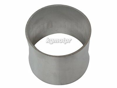 AU38 • Buy 4  To 3.5'' OD Weld On Aluminum Reducer Pipe 2mm Thick 3  Long
