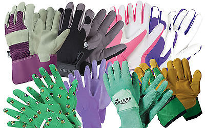 Briers Ladies High Quality Gardening Gloves All Rounders Riggers & Professional • 8.95£