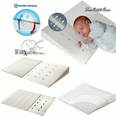 £18.99 • Buy Baby Wedge Anti REFLUX COLIC PILLOW Cushion For Pram Crib Cot Bed DIFFERENT SIZE