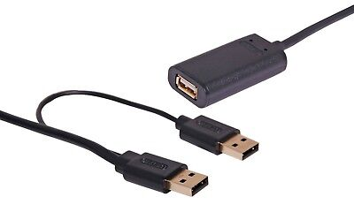 AU49 • Buy 10M USB 2.0 Active Extension Cable Lead With Booster