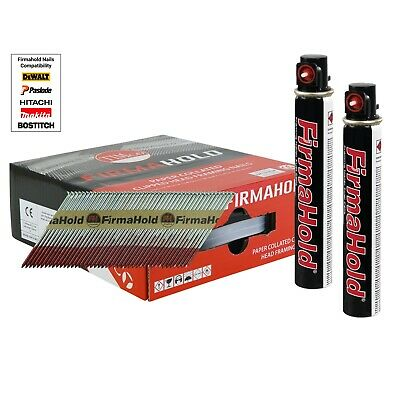 Firmahold Galvanised Framing 1st Fix Nails Inc Gas Fits Paslode IM350 • 42.50£