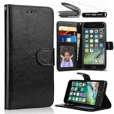 AU9.80 • Buy Shockproof Flip PU Leather Wallet Card Holder Stand Case Cover For IPhone 6 Plus