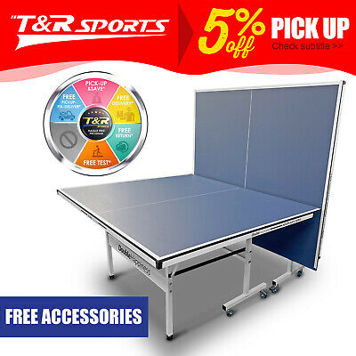 AU430.99 • Buy Blue 16mm Double Happiness Ping Pong Table Tennis Table AU