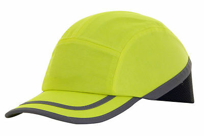 Safety Baseball Cap Bump Hard Hat Lightweight Head Protection Workwear New Stock • 12.99£