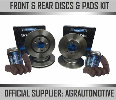 AU205.07 • Buy Oem Spec Front + Rear Discs And Pads For Mini R53 1.6 Supercharged Works 2001-03