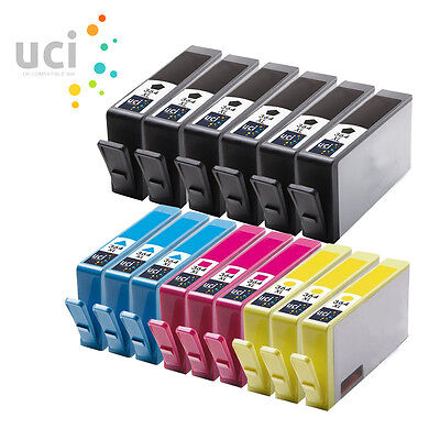 15 INK UCI Brand Fits For Hp 364XL Deskjet 3070A 3520 Officejet 4610 4620 • 19.37£