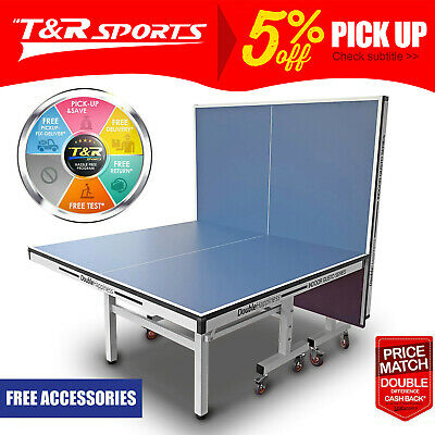AU734.99 • Buy 25mm Tournament Double Happiness Table Tennis Table With Free Gift Pack