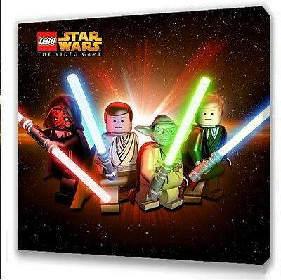 £7.49 • Buy LEGO STAR WARS THE GAME KIDS BEDROOM CANVAS PICTURE 25 X 25cm