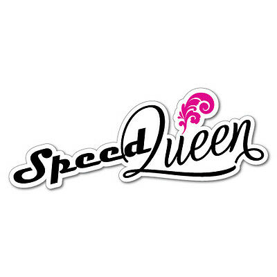AU5.99 • Buy Speed Queen Girl Sticker Decal JDM Car Drift Vinyl Funny Turbo #6879EN