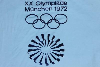 $ CDN88.53 • Buy 70s Vintage 1972 Olympics Game Made In Germany T Shirt XS