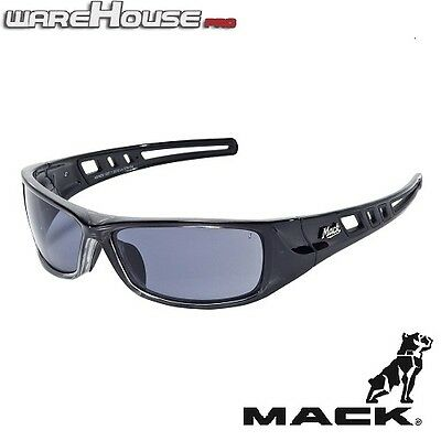 AU44.90 • Buy New MACK SAFETY SUN GLASSES- B DOUBLE BLACK POLARISED- 1,3,8pk-AS/NZS Certified