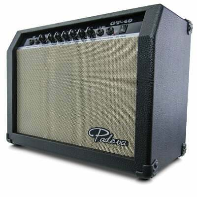 AU129 • Buy *New* Padova Music 40W Electric Guitar Amp Amplifier - DJ City Australia