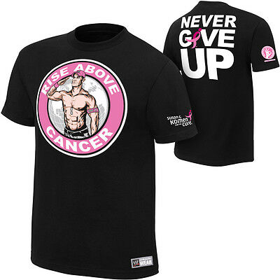 Wwe John Cena Rise Above Cancer Official T-shirt Small Authentic New • 14.99£