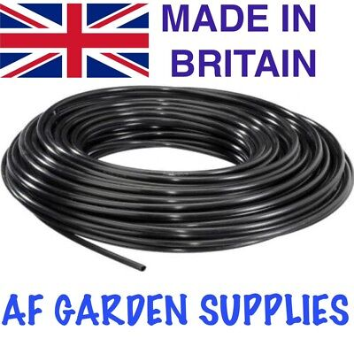 4mm Micro Garden Irrigation Pipe/Hydroponics/Watering Tube (10 Meter Roll)  • 7.40£