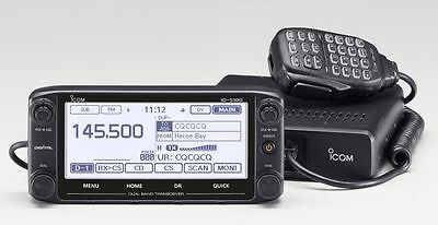 ICOM ID-5100A Deluxe Touchscreen 2m/70cm, 50W Mobile W/D-STAR/GPS -Icom Dealer- • 325.58£