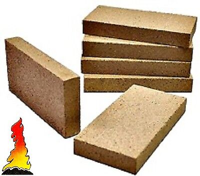 £21.89 • Buy 8 X Vermiculit Villager Stove Woodburner Fire Brick 230mm X 114mm X 25mm Thick