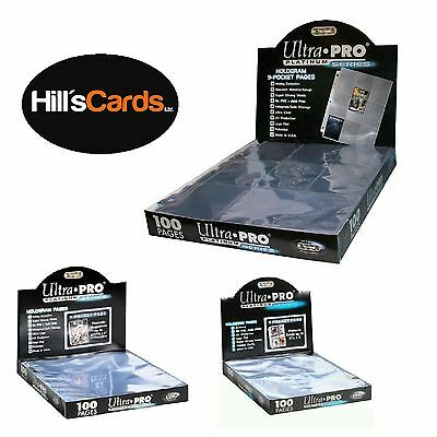 Ultra Pro: Platinum Series Pocket Pages For Trading Cards & Collectible Albums • 3.75£