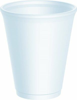 7oz Polystyrene Cups Takeaway/Cafe **choose Qty With Or Without Lids** • 7.49£