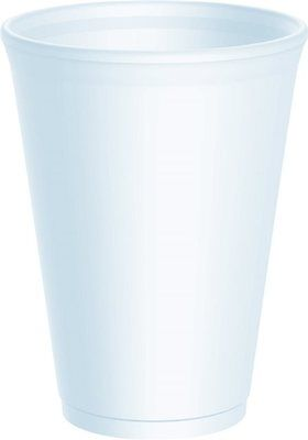 12oz Polystyrene Cups Takeaway/Cafe **choose Qty With Or Without Lids** • 12.99£