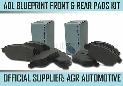 AU86.73 • Buy Blueprint Front And Rear Pads For Toyota Mr2 1.6 Supercharged 1986-90