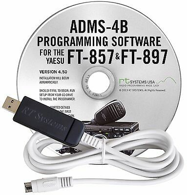 AU69.39 • Buy RT Systems Programming Software & Cable For Yaesu FT857/857D/897/897D