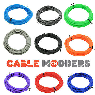 Cable Modders U-HD Expandable Braid Sleeving - 10 Colours - All Sizes • 1.99£