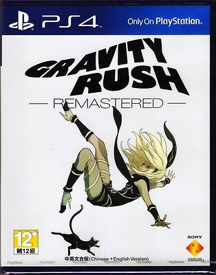AU71.11 • Buy MSRNY PS4 Gravity Rush DAZE Remastered Asian Version Chinese + English Subtitle