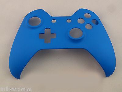 $11.99 • Buy Soft Touch Blue, Front Shell For Xbox One Controller -  New