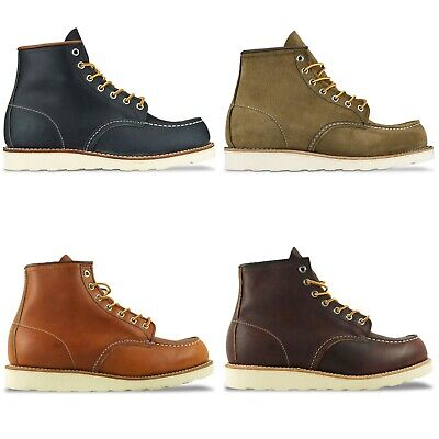Red Wing Boots - New Red Wing Moc Toe Boot - Tan/brown/copper/navy/olive - Bnib • 269£
