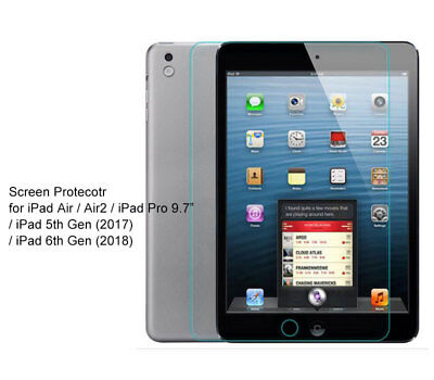 AU8.15 • Buy For IPad Air 2, IPad [5th 6th Gen] Ultra Clear/Tempered Glass Screen Protector