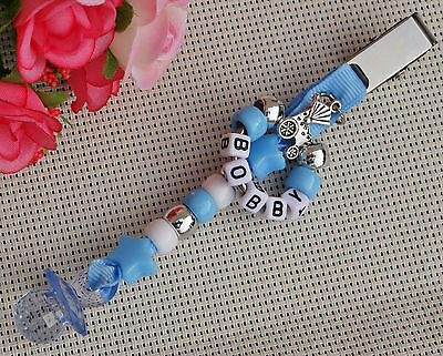 £2.99 • Buy Personalised Beautiful Pram Charm Ideal Gift For Baby Girls Boys Anyname