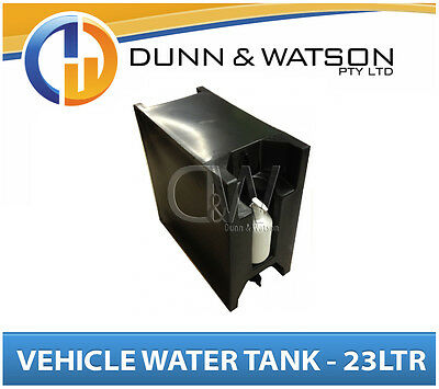 AU180.50 • Buy Vehicle Water Tank With Soap Dispenser (23L) Black PVC Ute Under Tray - LH & RH