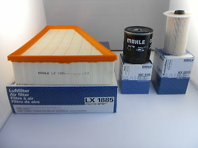 Ford Galaxy 1.8 TDCi Diesel Service Kit Oil Air Fuel Filter 2006 To 2010 MAHLE • 31.99£