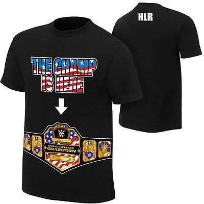 Wwe John Cena The United States Champ Is Here Official T-shirt All Sizes New • 14.99£