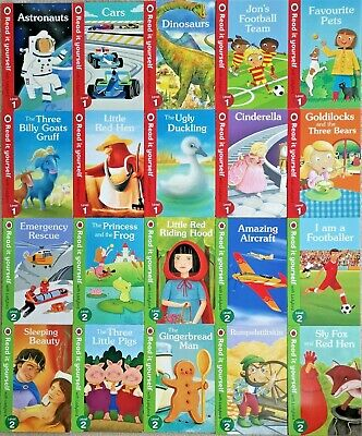 Children Ladybird Read It Yourself (Level 1 & 2) 30 Books Collection Brand New!! • 29.99£