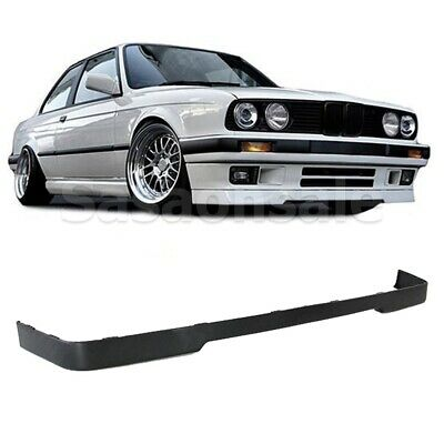 $61.99 • Buy Fit For 84-92 BMW E30 3 Series 318 325 Lower Valance IS Front PU Bumper Lip