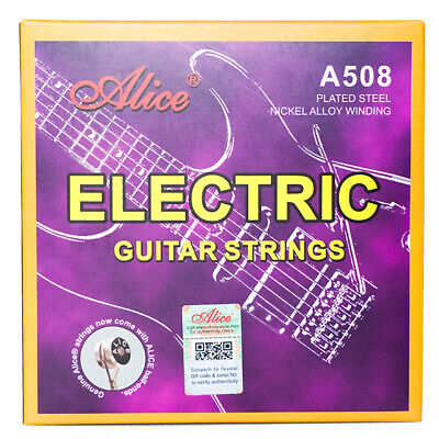 $ CDN6.89 • Buy Alice A508 Electric Guitar Strings Full Set Nickel Light Regular 9-42 10-46