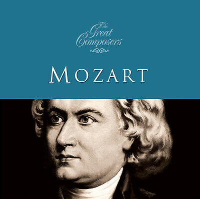 The Great Composers - Mozart Wolfgang Amadeus Mozart Audio CD • 5.05£